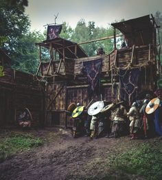 Epic Doesn't Do These Battle Scenes from Epic Empires Justice Larp, Fantasy Village, Viking House, Viking Village, Empire, Nordic Vikings, Viking Warrior, And So The Adventure Begins, Fortification