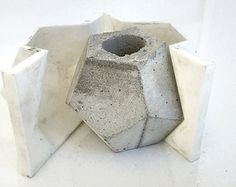 Making Concrete Molds for Planters | Small Dodecahedron Mold Set - 3D Pr inted Mold For Making Your Own ...