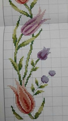 Cross Stitch Rose, Cross Stitch Borders, Cross Stitch Flowers, Cross Stitch Embroidery, Hand Embroidery, Cross Stitch Patterns, Canvas Template, Easter Season, Prayer Rug