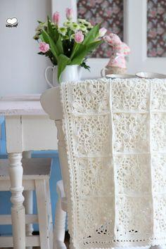 Kissen - Granny Decke - ein Designerstück von bleuetrose bei DaWanda
