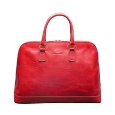 Fiona Red Top Handle Bag
