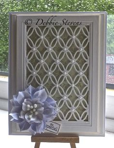 Hi folks, so I walk into my craft room and my mind goes blank, it takes me ages to put a card together just lately but I'm not giving up. I treated myself to the new couture creations tied togethe...