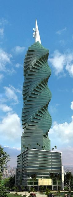 PANAMA CITY, Panama - The revolution building.  Was there in 2010 - Was just a shell, looks amazing now...