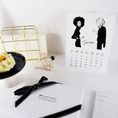 NEW💄👠 Fashion Illustration Calendar by @majatomljanovic. 😉 Shop away your favorite Notebooks, Desk Planners & Phone Cases 📱 _________________________________#mysweetinvitation #msiteam #phonecase #msimoments #iphone7 #majatomljanovic #fashion #illustration #fashionillustration#femine #style #design #write #marble #note#desk #office #backtoschool #gold #luxury#shop #online #blackandwhite #photography #photooftheday #minimal #sketch