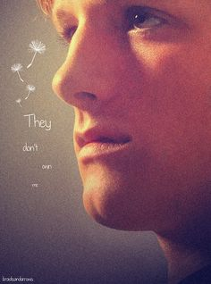 """If I'm going to die, I want to still be me"" -Peeta Mellark"