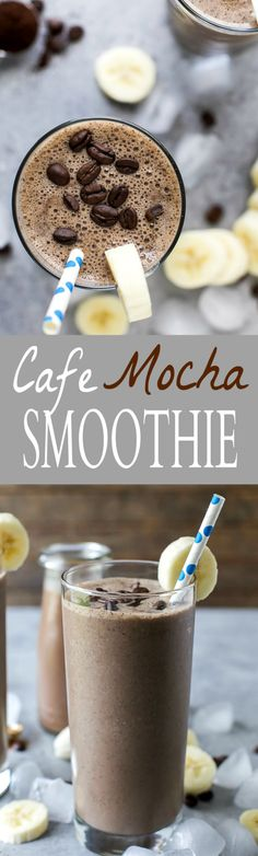 Cafe Mocha Smoothie