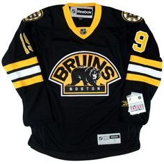 Tyler Seguin Bruins Jersey ($125) ❤ liked on Polyvore featuring tops, shirts, jersey top, jersey shirts, polyester shirt, retro shirts and retro tops