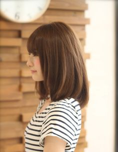 ストレートヘアスタイル(kE-272)   ヘアカタログ・髪型・ヘアスタイル AFLOAT(アフロート)表参道・銀座・名古屋の美容室・美容院