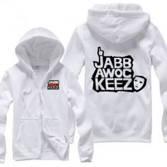 Jabbawockeez Up Logo Zip Up Hoodies...........simple and cool avl
