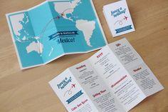 20 Printable Travel Theme Wedding Invitations