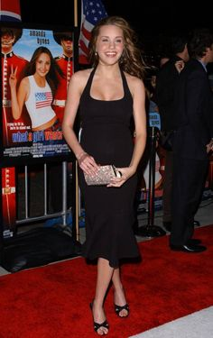Amanda Bynes at the What A Girl Wants Premiere in 2004.
