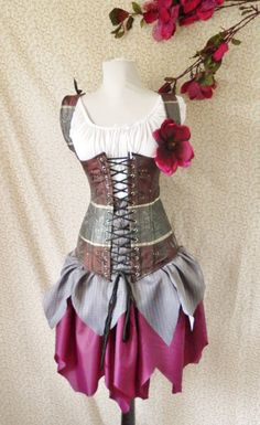 Woodland Fairy Corset Costume
