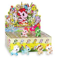 Tokidoki Unicornos Series 4 Vinyl Figure Display Box - Tokidoki - Unicornos - Vinyl Figures at Entertainment Earth