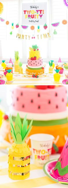 We celebrated my little girl's birthday with a Two-tti Fruity Birthday Party! Come take a look at party photos, resources, and more! themes Two-tti Fruity Birthday Party: Blakely Turns 2 Year Old Birthday Party Girl, Fruit Birthday, Second Birthday Ideas, Girls Birthday Party Themes, First Birthday Parties, First Birthdays, Birthday Parties For Girls, 2nd Birthday Party For Girl, Little Girl Birthday Cakes