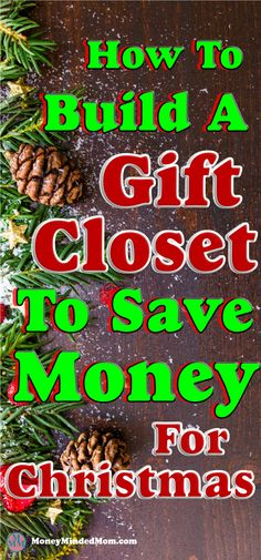 How to Build a Gift Closet To Save Serious Money ~ Building a gift closet is a great way to save money on gift giving as well as being able to afford doing so when money is tight. Read on how to build your own gift closet to save some serious money. Christmas gifts | saving money on gifts | saving money | money saving tips | gift giving | how to save money on gifts | birthday gifts | frugal living tips