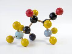 Vintage Molecular Model, Chemistry, Scientific, Atomic, Multicolored. $48.00, via Etsy.