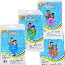 """Bulk Splash-N-Swim Inflatable Swim Rings, 20"""" at DollarTree.com"""