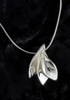 silver leaves..etsy