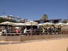 Julia's beach bar, Vale do Garrao. A little piece of heaven !