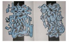 Graffiti Alphabets turned into graffiti art: many styles, colours, themes and calligraphy examples in this inspirational graffiti alphabet selection. Graffiti Text, Graffiti Writing, Wall Writing, Graffiti Tagging, Graffiti Alphabet, Graffiti Lettering, Graffiti Artists, Alphabet Letters, Letter Example
