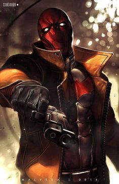 Please set up Red Hood in The Batman movie Matt Reeves and use him in the sequel Comics Anime, Comic Manga, Dc Comics Art, Comic Art, Comic Book Characters, Comic Character, Fantasy Characters, Teen Titans, Hood Wallpapers