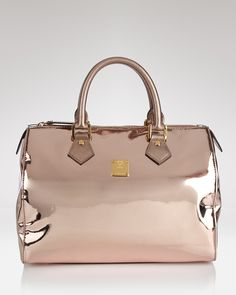 Oh shiny MCM Satchel... One day you will be mine, even if I have to wait for you on the vintage side.