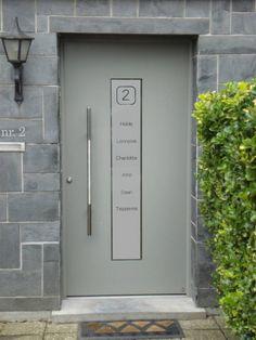 Voordeur Bloknummer