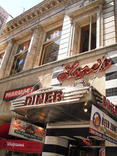 Miquelli's Amerikablog: Restaurant: Lori's Diner – San Francisco, Californ...
