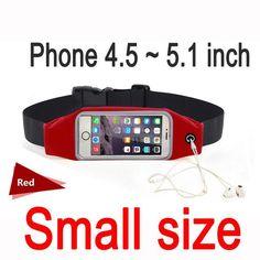 Gym Waist Bag Waterproof Sport Accessories Universal Phone Case Pouch