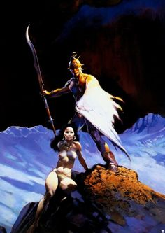 Frank Frazetta Witherwing painting for sale - Frank Frazetta Witherwing is handmade art reproduction; You can shop Frank Frazetta Witherwing painting on canvas or frame. Frank Frazetta, Science Fiction, Boris Vallejo, Image Comics, Robert E Howard, Illustrator, Serpieri, Drawn Art, New York City
