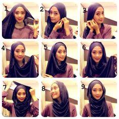 Simple Yet Gorgeous Hijab Tutorial