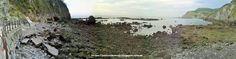 CANTABRIA-LAREDO: vistas desde el  Mirador del Abra, la Playa Soledad