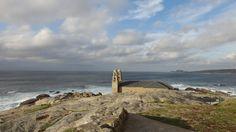 Vista do Santuario da Virxe da Barca en Muxía #Costadamorte