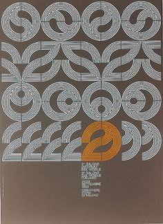 Salone Poster, 1969 by Alberto Longhi