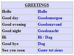 With this language, you can master not only Belgium Flanders, but Holland as well, and the language of South Africa( Afrikaans )is very . Dutch Language, German Language Learning, Language Study, Dutch Phrases, Dutch Words, Languages Of South Africa, Afrikaans Language, Learn Dutch, Dutch Netherlands