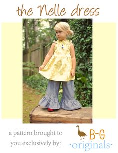 BG Original The Nelle dress pdf pattern by browniegoose on Etsy, $10.50