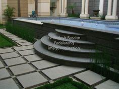 Image result for batu alam untuk halaman rumah