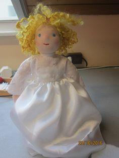 Aliya Christmas Treetop Angel Christmas Angel  OOAK
