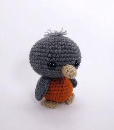 Blue the Bird amigurumi by Theresas Crochet Shop