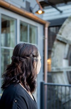 Bridal hair styles at Cottage Retreat and Spa at Gardner Village.