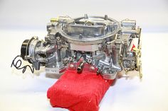 Edelbrock carburetors are reliable and easy to tune—all ours needed was a through cleaning.
