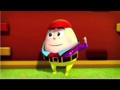 Humpty Dumpty Plus Lots More Kid's Songs - Humpty Dumpty Nursery Rhym. Humpty Dumpty Nursery Rhyme, Kids Nursery Rhymes, Abc Song For Kids, Kids Songs, Abc Songs, Club Kids, Mother Goose, Big Party, Play Doh