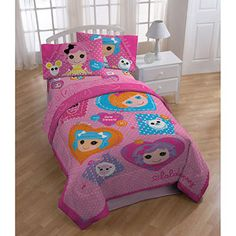 The girls have decided on Lalaloopsy comforters for their bunk bed (whenever we finally get it)