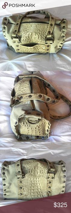 """Beautiful suede and croc Hammitt Handbag I die for this bag. It's beautifully constructed and will last a lifetime. The shape is timeless and color is an amazing """"go with everything"""" neutral. Hammitt Los Angeles Bags"""