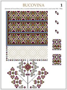 eleva - ie Bucovina (JPEG Image, 1200 × 1600 pixels) — Масштабоване Simple Cross Stitch, Cross Stitch Charts, Cross Stitch Patterns, Folk Embroidery, Cross Stitch Embroidery, Embroidery Patterns, Embroidered Clothes, Textiles, Beading Patterns