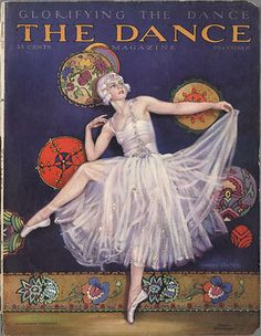 Cover Of Dance Magazine December 1927 Poster Print By Mary Evans / Jazz Age Club Collection X Dance Images, Dance Pictures, Art Deco Posters, Vintage Posters, Dance Magazine, Fine Art Prints, Canvas Prints, Shall We Dance, Dance Art