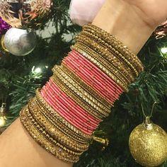 @NGT6020 Silk Bangles, Bridal Bangles, Bridal Jewelry, Bangle Set, Bangle Bracelets, Thread Bangles Design, Hand Jewelry, Indian Jewelry, Indian Bangles