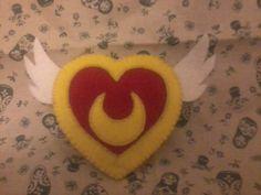 Sailor Moon felt brooch by MishYooona.deviantart.com on @DeviantArt