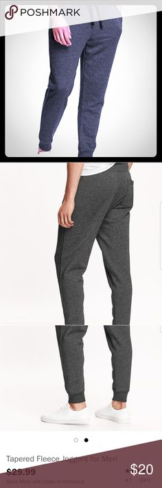 Old Navy Brand new w/ tags! Joggers tapered fleece Old Navy Brand new w/ tags! Joggers tapered fleece. Another bday gift for my bf that didn't fit! Threw away receipts! Spent over $30 with tax and shipping but selling for $25. Taking offers! See old navy website for details.  https://www.oldnavy.com/products/Pundefined.jsp Old Navy Pants Sweatpants & Joggers
