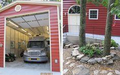 Bradley Mighty Steel RV Garage for sale, RV Shelter pricing Rv Garage, Garage Plans, Garage Ideas, Shed Floor Plans, Barn Plans, House Plans, Garage Design, House Design, Rv Shelter